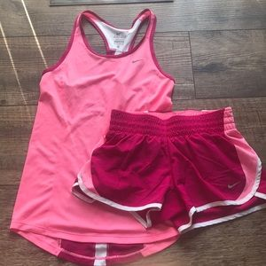 Nike Dri-Fit Tank top and shorts